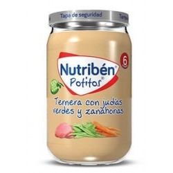 Nutribén Potitos Ternera...
